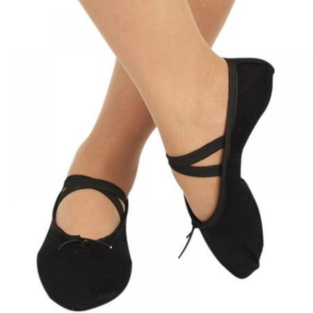 Gargrow Women Child Adult Canvas Ballet Dance Shoes Pointe Dance Gymnastics Ballet Flats US8=SIZE30=Shoes lengthabout 19CMUS8.5=SIZE31=Shoes lengthabout 19.5CMUS9=SIZE32=Shoes lengthabout 20CMUS9.5=SIZE33=Shoes lengthabout20.5CMUS10=SIZE34=Shoes lengthabout21CMUS10.5=SIZE35=Shoes lengthabout21.5CMUS11=SIZE36=Shoes lengthabout22CMUS11.5=SIZE37=Shoes lengthabout22.5CMUS12=SIZE38=Shoes lengthabout23CMUS12.5=SIZE39=Shoes lengthabout23.5CMUS13=SIZE40=Shoes lengthabout24CMUS13.5=SIZE41=Shoes lengthabout24.5CMabove CM are shoes length,deviation +-0.5cmPackage include : 1 pair shoes