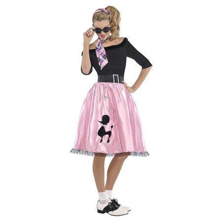 Sock Puppet Halloween Costume (Sock Hop Sweetie Adult Costume -)