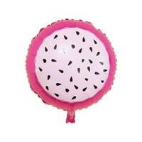 1pcs Watermelon Pineapple Ice-cream Fruit Shapes Foil Balloon Summer Birthday Party Supplies Balloons