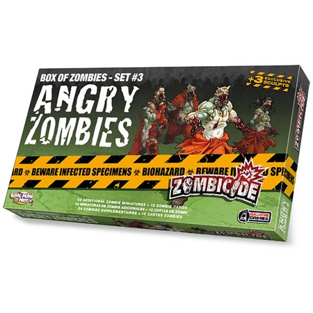 Zombicide Angry Zombies Box of Zombies, Set 3