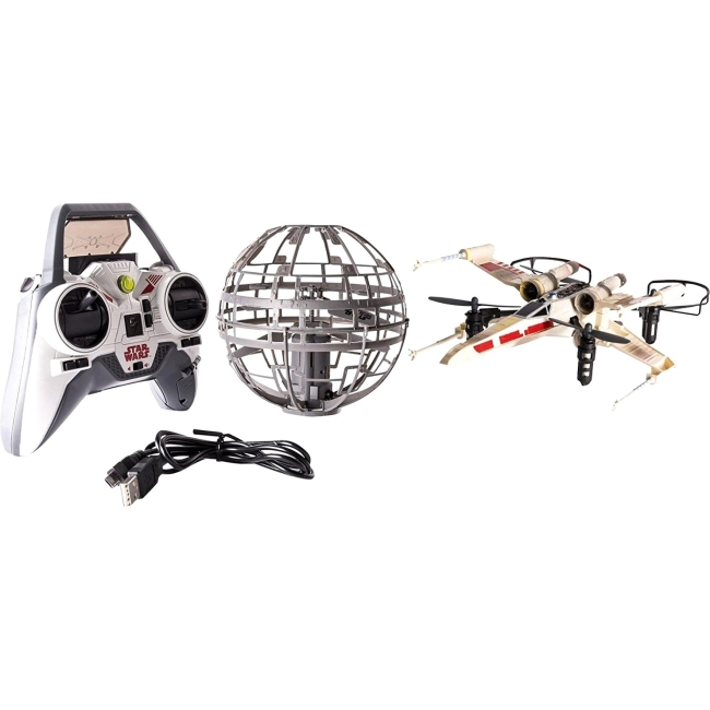 Air Hogs Star Wars X-wing vs. Death Star, Rebel Assault RC Drones by Overstock