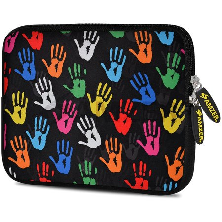 Mini Pale (Universal 10.5 Inch Soft Neoprene Designer Sleeve Case Pouch for 10.5 Inch Tablet, eBook, Netbook - Colour Palms )