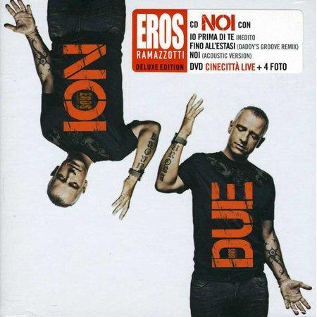 Eros Ramazzotti   Noi Due  Bonus Dvd   Cd