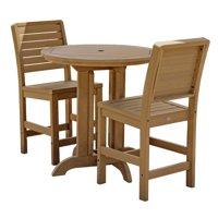 highwood® Eco-Friendly Weatherly 3pc Round Counter Dining Set