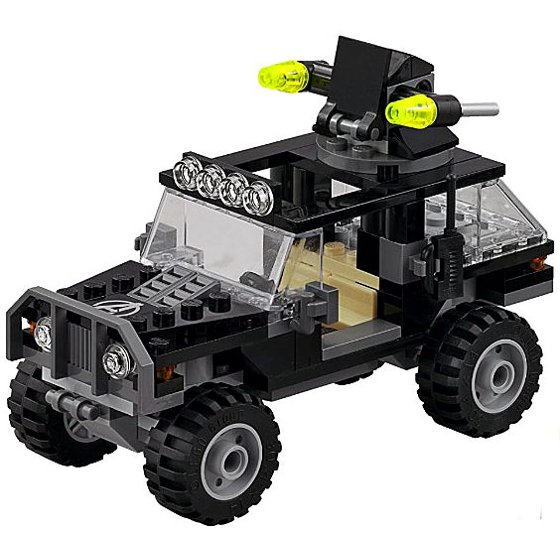 Lego Marvel Super Heroes Avengers Jeep Loose Vehicle Age Of Ultron