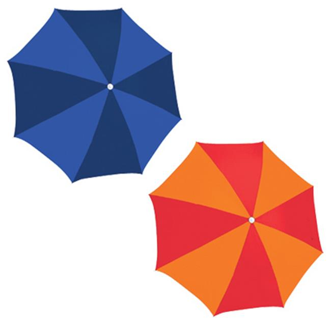 Rio Brands UB884-TS 6 ft. Polyester Beach Umbrella