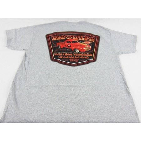 Active Pickup (NWT Browning Men's Truck Tee Sport Grey Pickup  Short Sleeve T-Shirt Size L & XL )