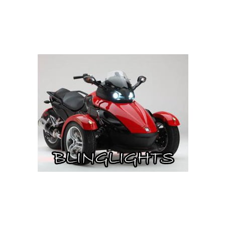 Can Am Spyder Roadster >> Can Am Spyder Roadster Trike Bright Replacement White Light Bulbs For Headlamps Headlights