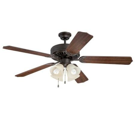 Ellington Fans E204 Pro 52  5 Blade Indoor Ceiling Fan   Light Kit Included