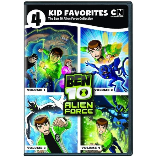 4 Kid Favorites: Ben 10 Alien Force (Full Frame)