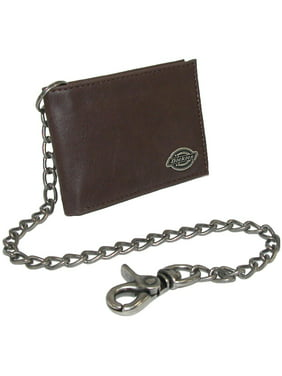 Dickies Bifold Men's Wallet with Metallic Chain