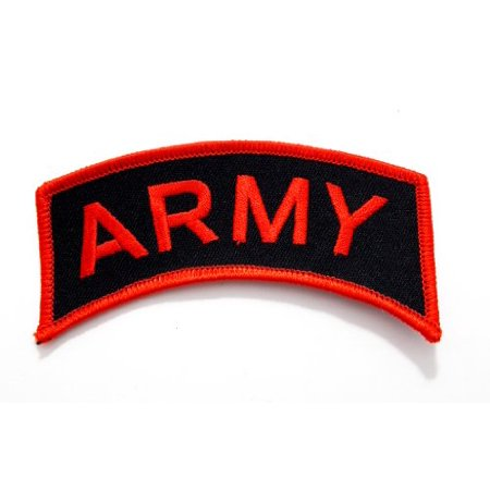 - United States Army Tab Embroidered Military Patch Iron or Sew AKPM129