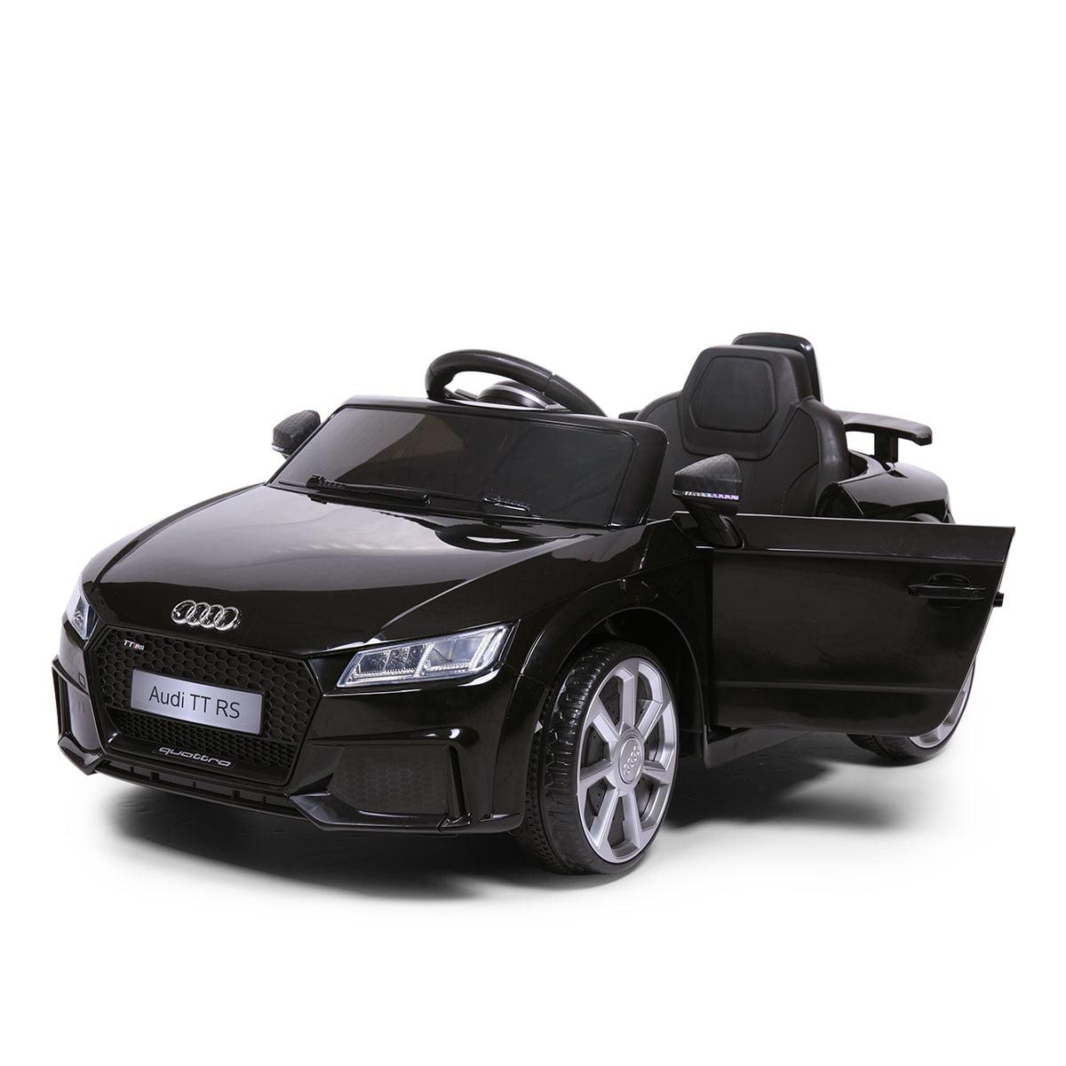 12V Audi TT RS Electric Kids Ride On Car Licensed Remote Control MP3 White