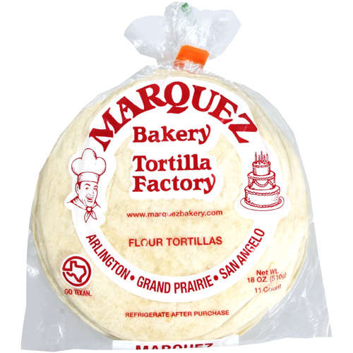 Bakery: Flour Tortilla Factory, 18 Oz