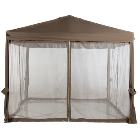 Abba Patio Abba Patio 10 Ft. W x 10 Ft. D Steel Pop-Up Canopy