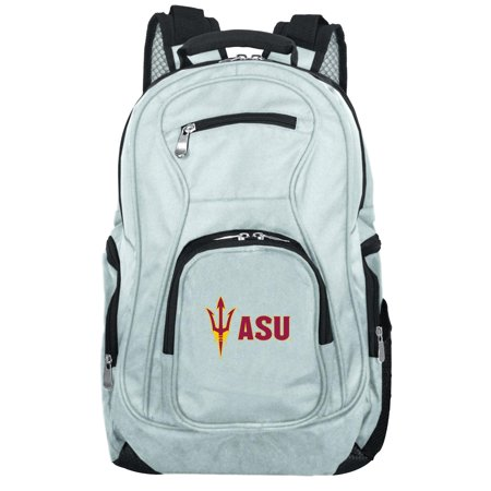 NCAA Arizona State Sun Devils Gray Premium Laptop Backpack