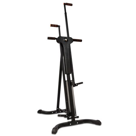 Vertical Climber Fitness Climbing Cardio Machine Full Total Body Workout Fitness Folding