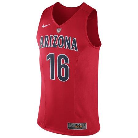 #16 Arizona Wildcats Nike Hyper Elite Authentic Performance Basketball Jersey - Red