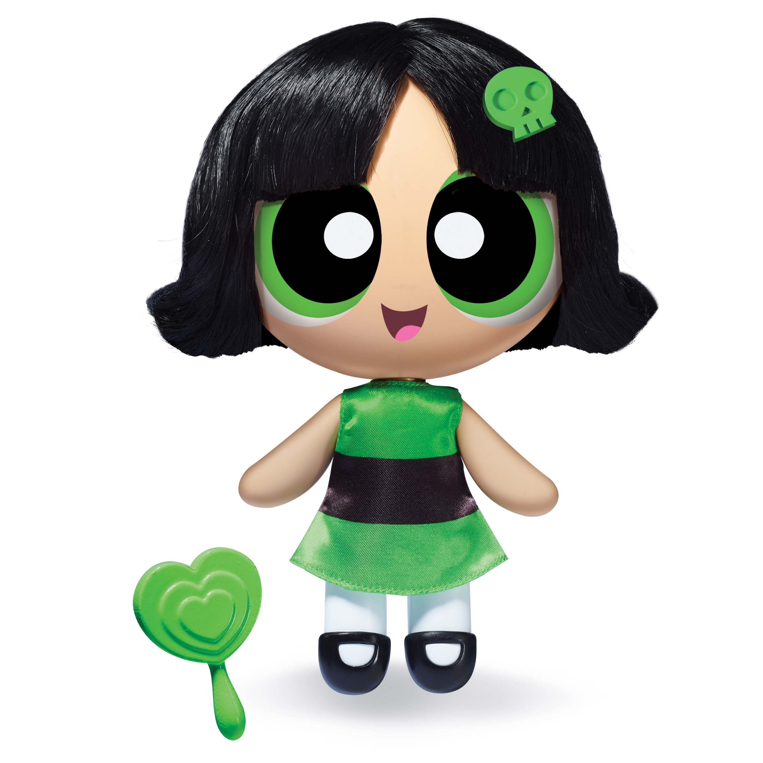 The Powerpuff Girls, 6 Inch Deluxe Dolls, Buttercup, by Spin Master