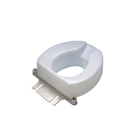 Ableware 725831004 Contoured Tall Ette Elevated Toilet