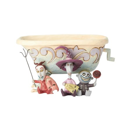 Jim Shore Dishes (Jim Shore Disney Traditions Lock Shock Barrel Candy Dish #6000953 )