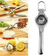 OUTAD Kitchen Bar Stainless Steel Lemon Orange Lime Squeezer Juicer Hand Press Tool