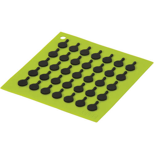 Lodge Silicone Trivet, With Black Skille