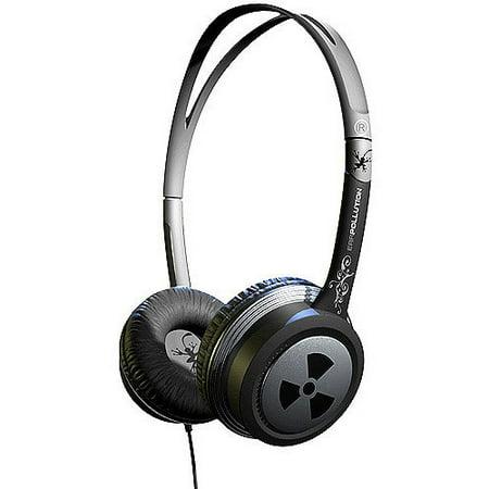 IFROGZ EarPollution Toxix Headphones - - Earpollution Plugz Earbud Headphones