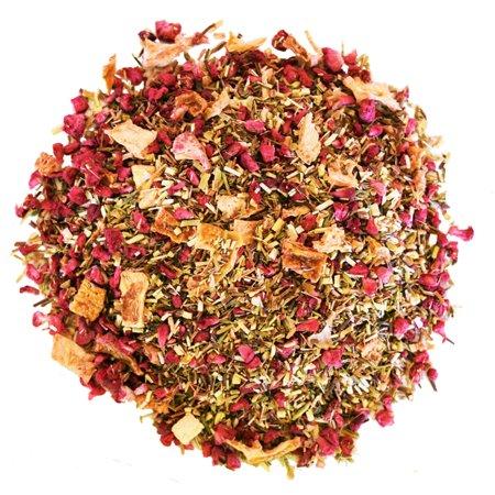 Raspberry Rooibos Tea - Red Tea - 100% Natural - Decaffeinated - Loose Leaf Tea - 2oz