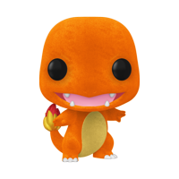 Funko POP! Games: Pokemon - Charmander (Flocked) - ECCC Shared Walmart Exclusive