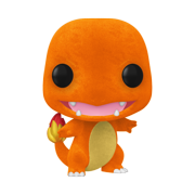 Funko POP! Games: Pokemon - Charmander (Flocked) - ECCC Shared Walmart Exclusive