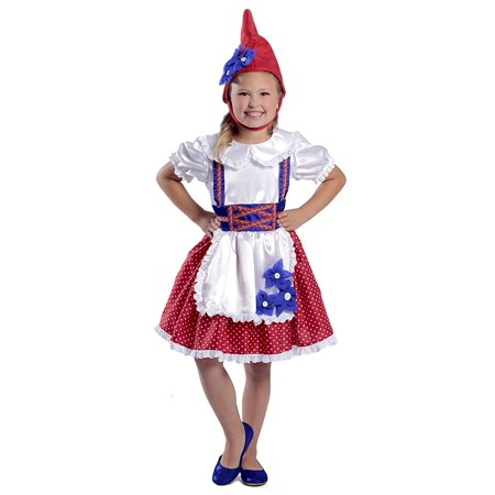 Girl Garden Gnome Costume