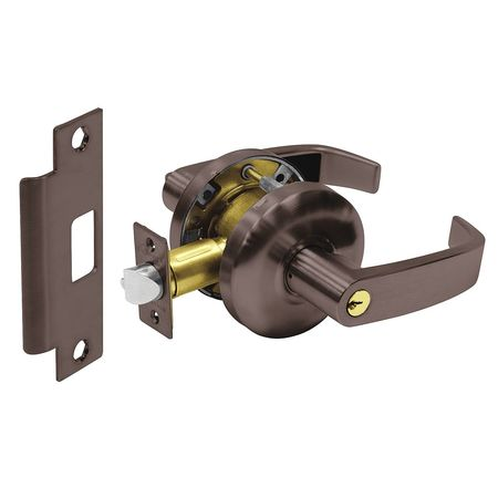 SARGENT 28-65G04 KL 10B Door Lever Lockset,Right Angle,Storeroom