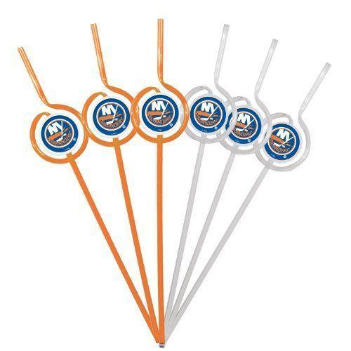 New York Islanders Team Sipper Straws