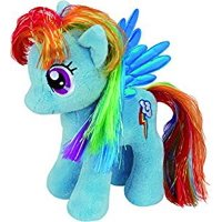"""Ty Beanie Babies My Little Pony - Rainbow Dash 6"""" Plush Toy"""