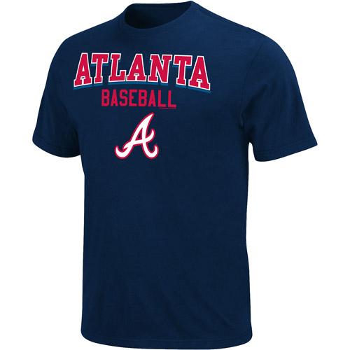MLB Big Men's Atlanta Braves  Team Tee