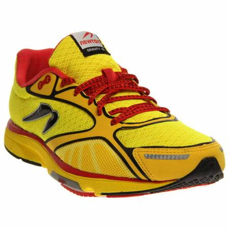 newton running gravity iii - yellow - mens