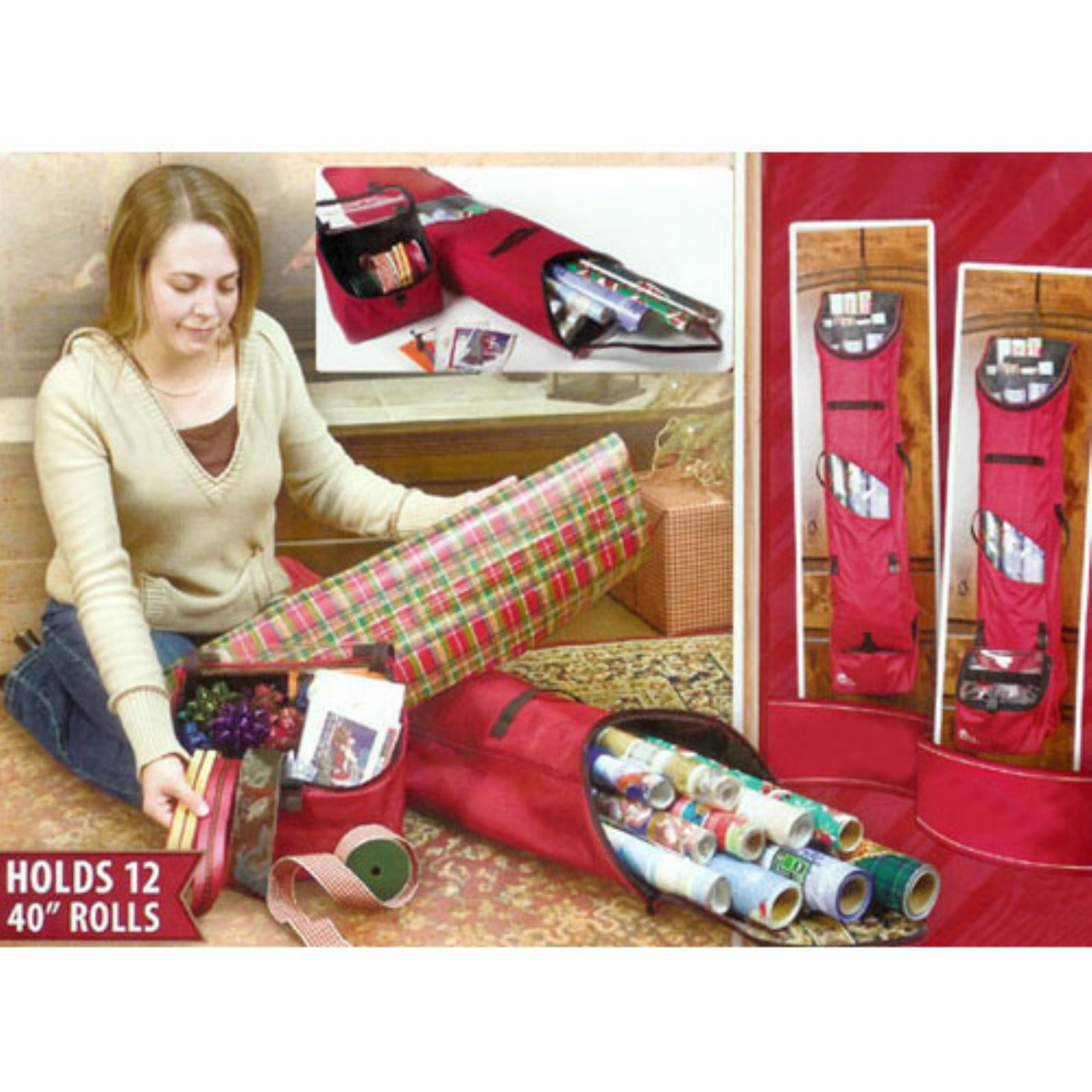 Tree Keeper Christmas Wrapping Paper Storage Bag