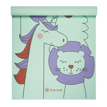 Kids Yoga Mat Animal Surprise by Gaiam (3mm)