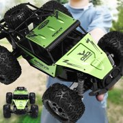 1:12 Scale Remote Control Car, Monster Trucks 60Km/h High Speed RC Truck, All Terrains Electric Remote Control toys Off Road RC Vehicle Truck for Boys Kids and Adults