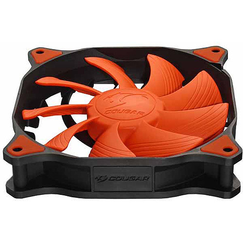 Cougar Vortex CF-V12H 120mm Hydro Dynamic Bearing Fluid Case Fan, Orange