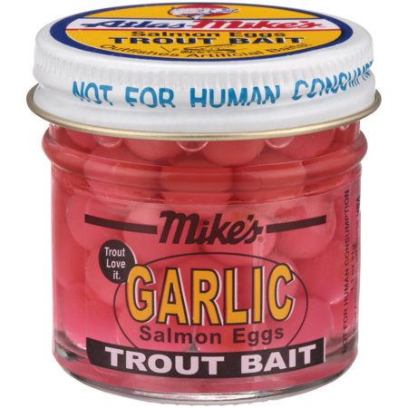 Atlas-Mike's® Pink Garlic Salmon Eggs Trout Bait 1.1 oz
