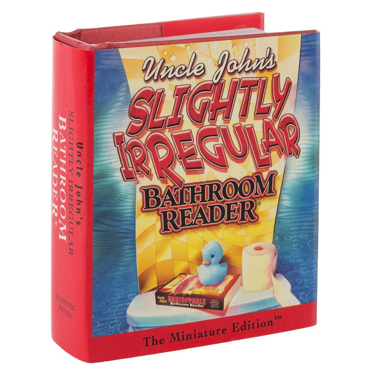 Running Press Uncle John's Slightly Irregular Bathroom Reader Mini Book Novelty Small Gag Gift