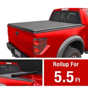 Soft Roll Up Truck Bed Tonneau Cover for 2015-2019 Ford F-150 | Styleside 5.5' Bed