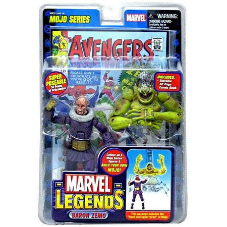 Marvel Series 14 Mojo Baron Zemo Action Figure [Unmasked Variant]