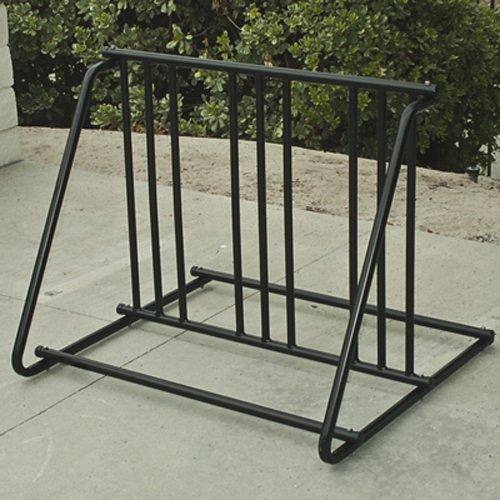Bicycle Parking Storage Rack 1-6 Bikes Steel Park Stand Black Finish New