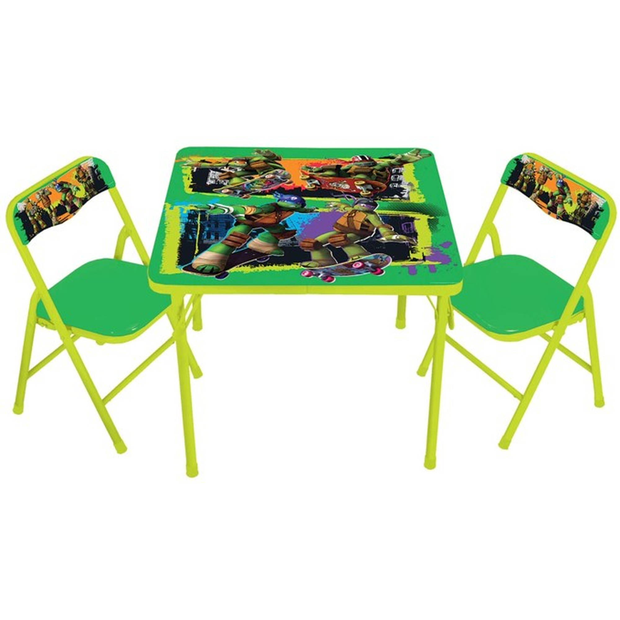 Toddler Activity Table & Chairs Set Your Choice of Character