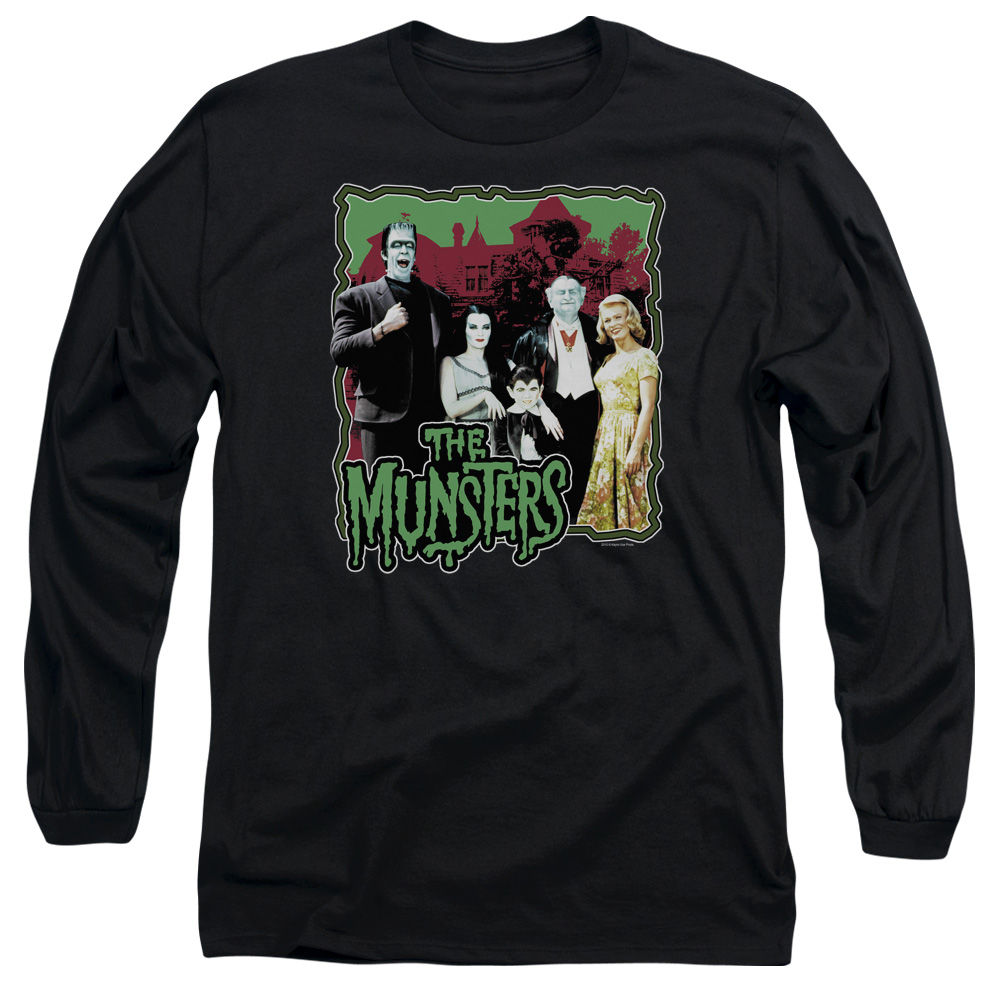 The Munsters Normal Family Mens Long Sleeve Shirt