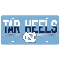 North Carolina Tar Heels DuoTone Color Acrylic License Plate