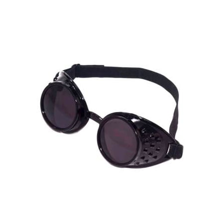 STEAMPUNK BLACK GOGGLES - Novelty Goggles